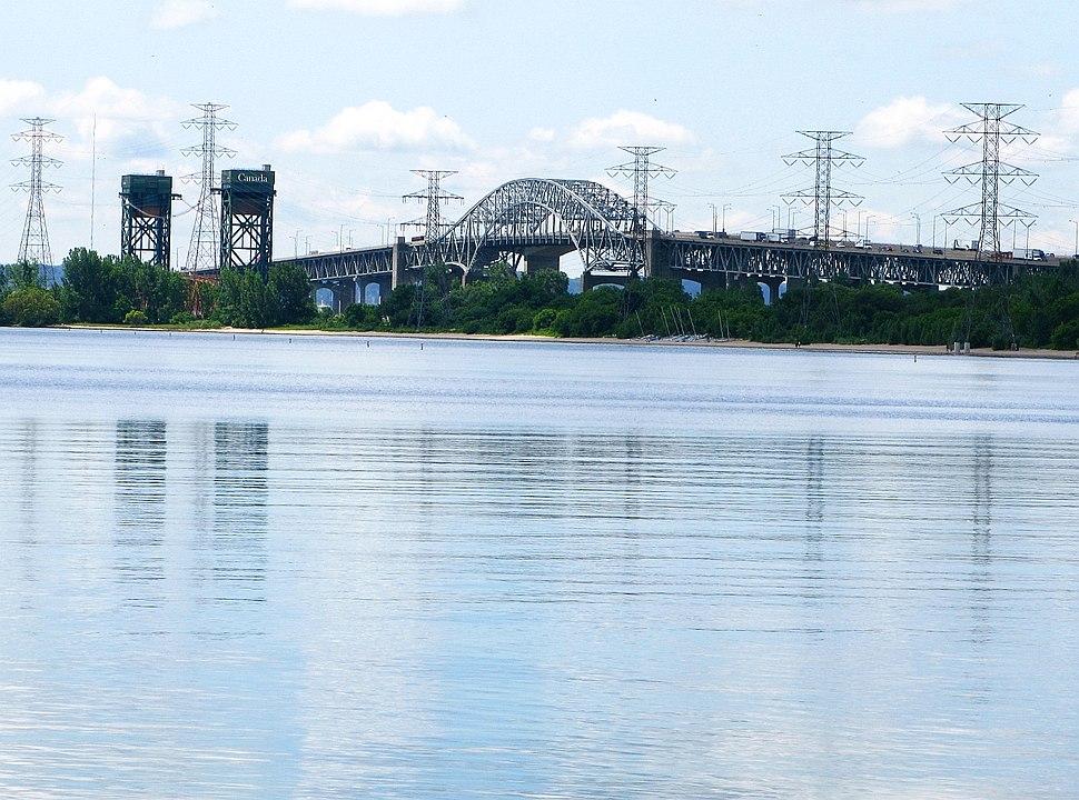 Burlington Bay James N. Allan Skyway - Hamilton, Ontario, Canada