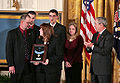 Bush presents Medal of Honor to family of Jason Dunham.jpg