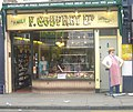 Butcher's shop, Highbury Barn, London, N5 - geograph.org.uk - 1368740.jpg