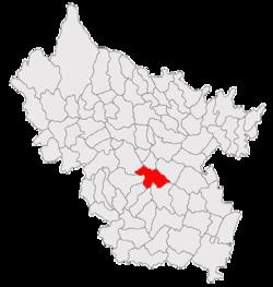 Vị trí của Buzău