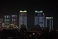 Bytové domy v centru Pchjongjangu - panoramio.jpg