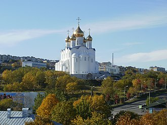 Kamchatka Peninsula - Cathedral of the Holy Trinity in Petropavlovsk-Kamchatsky