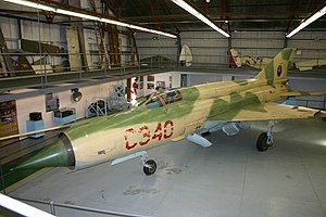 Battle of Cuito Cuanavale - Angolan Air Force MiG-21