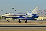 C-GOIL 1989 Dassault Mystere Falcon 900 Serial 75 (10484414506).jpg
