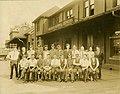 C.N.R Express Depot Staff. Old C.N.R. Station Hamilton ON 1929. (14065932130).jpg