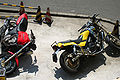 CB400 and FZX750 Motor Cycle001.JPG