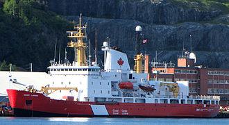 Canadian Coast Guard - Image: CCGS Henry Larsen, Medium Icebreaker