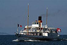 Navire de la Compagnie générale de navigation sur le lac Léman