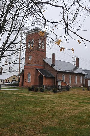 Churchville Presbyterian Church - Image: CHURCHVILLE PRESBYTERIAN CHURCH, HARFORD COUNTY, MD
