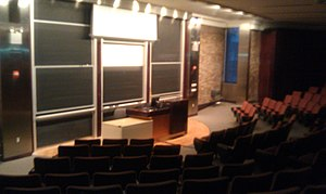 Courant Institute of Mathematical Sciences - Lecture Hall at Warren Weaver Hall