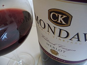 CK Mondavi California wine