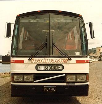 New Zealand Railways Road Services - Volvo Roadmaster Road Services - Coaches c1985