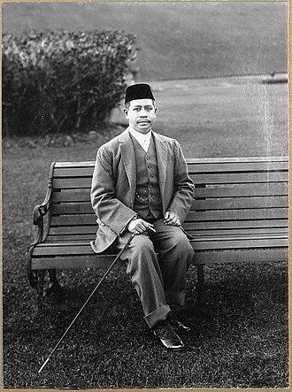 Zainal Abidin III of Terengganu - Sultan Zainal Abidin III, 1909.