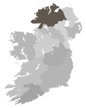 Diocese of Derry and Raphoe - Diocese Highlighted