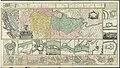Ca. 1738 map of Serbia and Bosnia by Johann Friedrich Oettinger.jpg