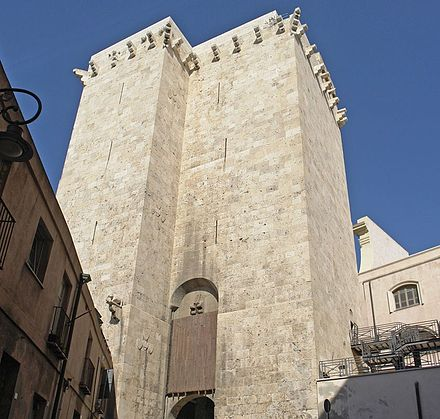 Cagliari, Elephant Tower - Sardinia