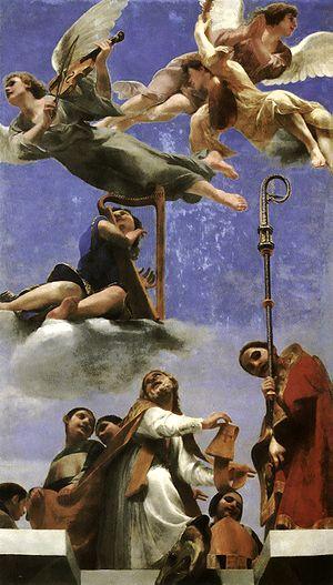 Guido Cagnacci - Image: Cagnacci, Guido Gloria di san Mercuriale 1642 1643