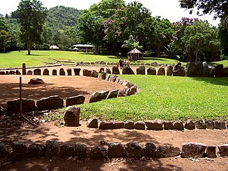 Caguana Ceremonial Ball Courts Site - Taíno ball courts at Caguana Site