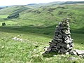 Cairn on hillside above Altrieve - geograph.org.uk - 844498.jpg