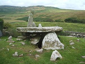 Chambered cairn - Cairn Holy II - a chambered cairn near Newton Stewart.