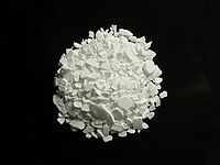 Sample of calcium chloride