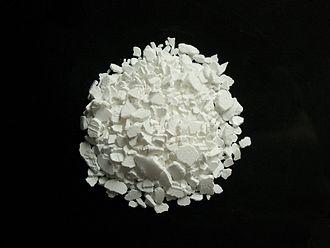 Calcium chloride - Image: Calcium chloride Ca Cl 2
