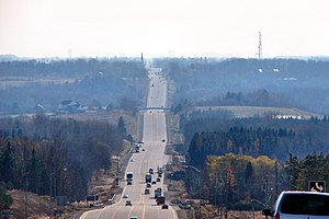Caledon, Ontario - Highway 10 through Caledon
