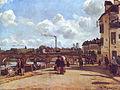 Camille Pissarro Vue de Pontoise Quai du Pothuis.jpg