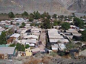 Campamento (Chile) - A campamento in Chile