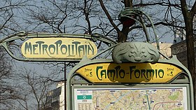 Image illustrative de l'article Campo-Formio (métro de Paris)