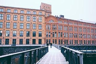 Linköping University - Kåkenhus building on Campus Norrköping
