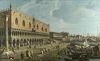Canaletto (1697-1768) - Venice, The Doge's Palace and the Riva degli Schiavoni - NG940 - National Gallery.jpg