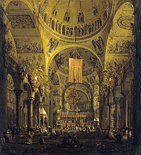 Canaletto (Venice 1697-Venice 1768) - The Nave of San Marco looking East - RCIN 400575 - Royal Collection.jpg
