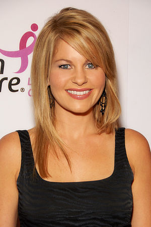 Candace Cameron Bure - Bure at Susan G. Komen for the Cure in 2009