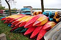 Canoes and boat rental at Lake Harriet, Oct 2017.jpg