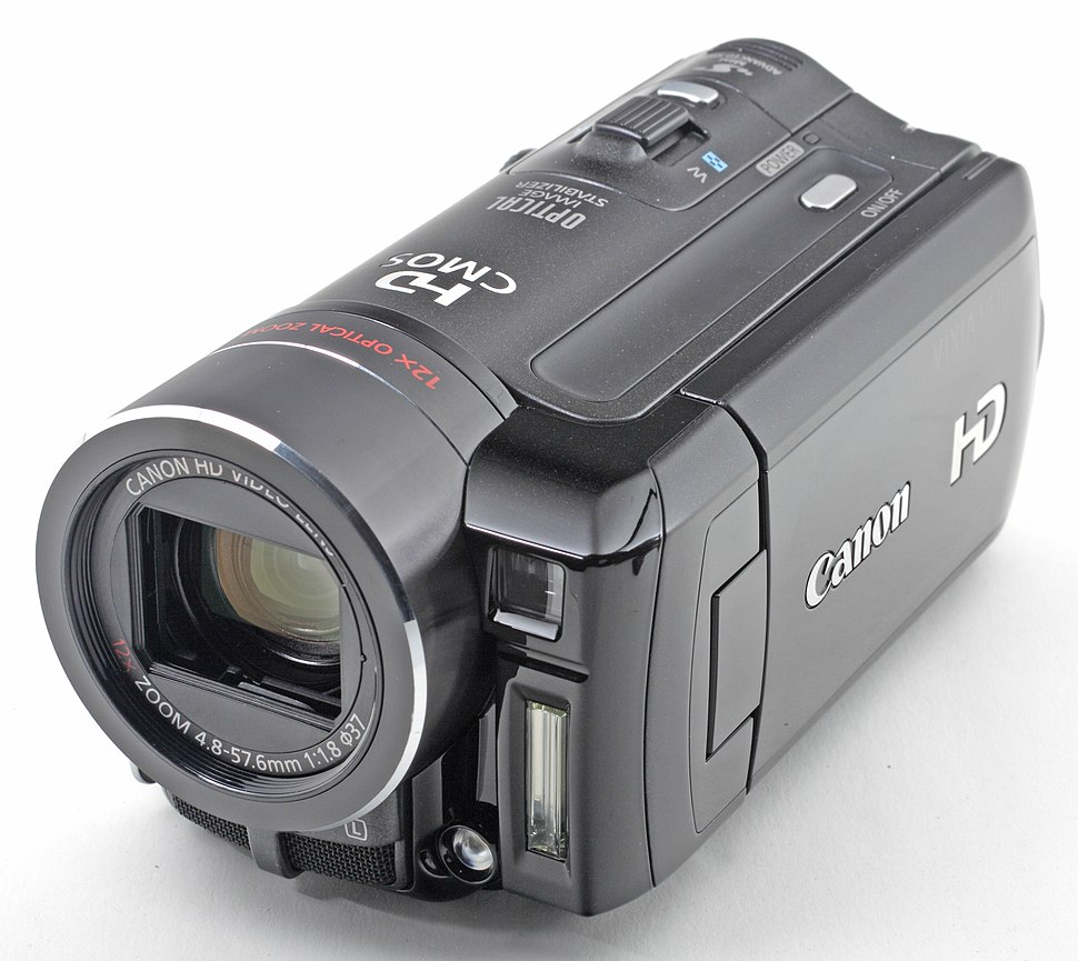 Canon HF10 front