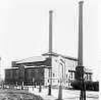 Capitol Power Plant - The Capitol Power Plant at the turn of the 20th century.
