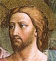 Cappella brancacci, Pagamento del tributo, dettaglio 2 (restaurato), Masaccio, dettaglio gesù.jpg