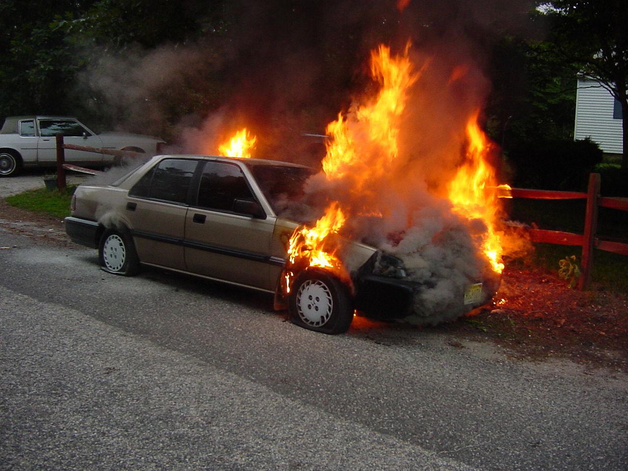 File Car Fire 6 24 2004 1 Jpg Wikimedia Commons