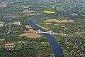 Card. Macharski Bridge over the river Vistula (view from W), Expressway S7, Nowa Huta, Krakow, Poland.jpg