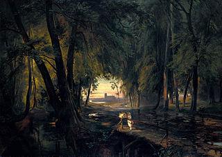 Forest path near Spandau
