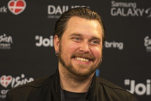 Carl Espen - Image: Carl Espen, ESC2014 Meet & Greet 07 (crop)