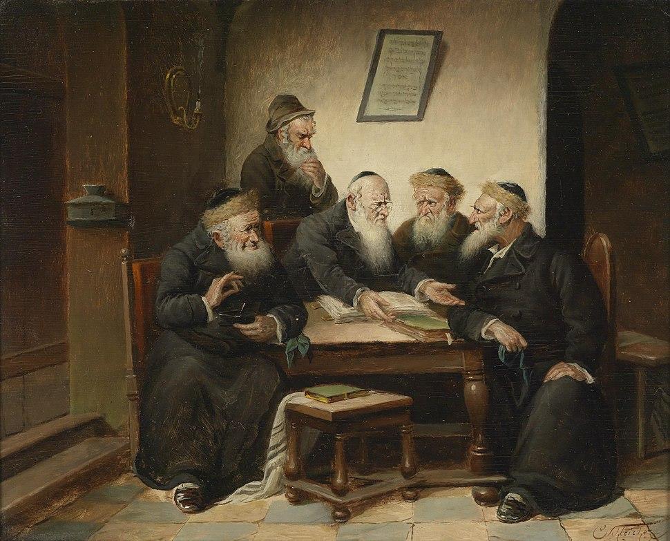 Carl Schleicher Beim Rabbi