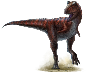 Furileusauria - Restoration of a sprinting Carnotaurus sastrei