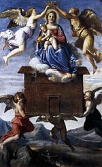 Carracci, Annibale - Translation of the Holy House - c. 1605.jpg