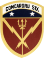 Carrier Group 6 insignia (US Navy) 1989.png
