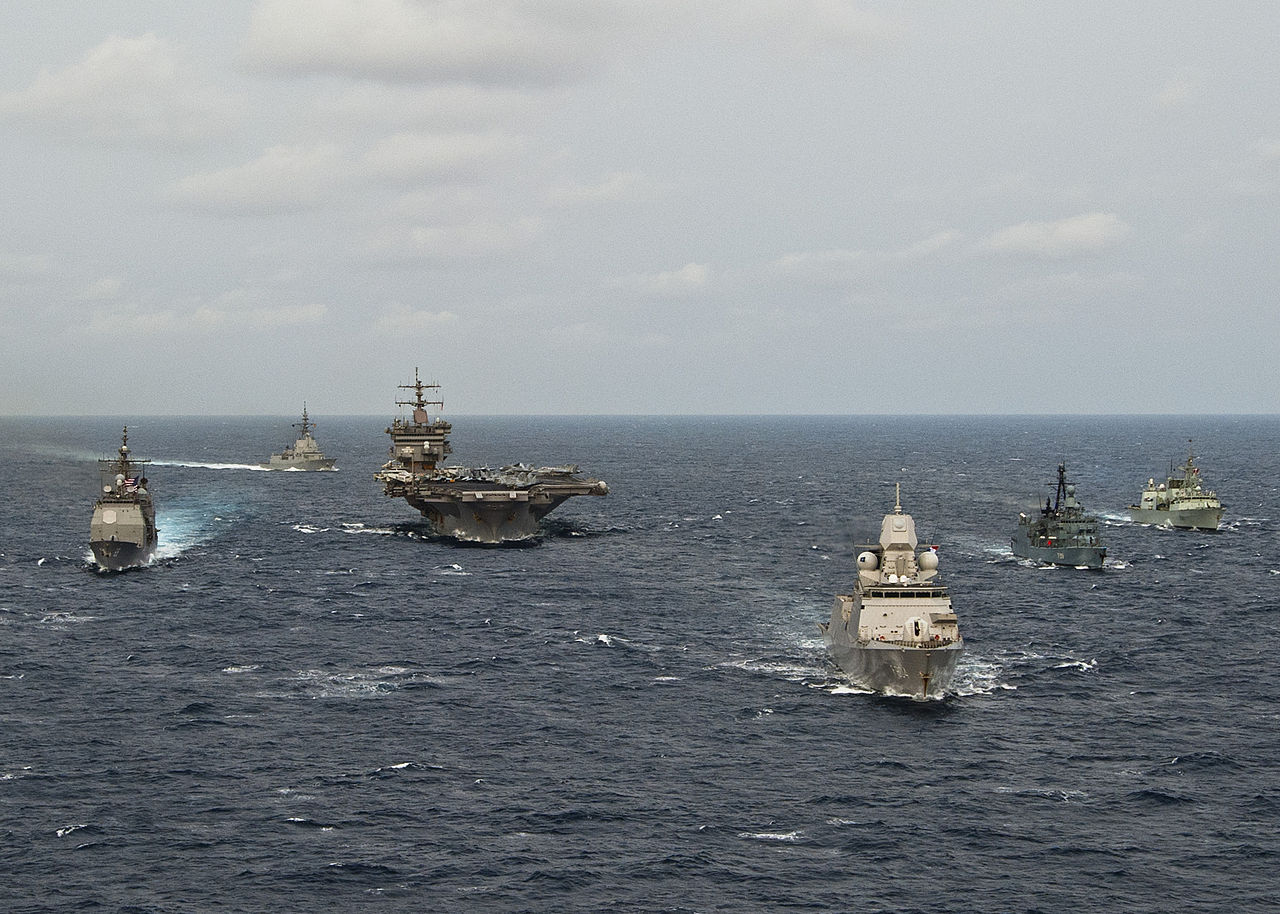 Carrier Strike Group One 48
