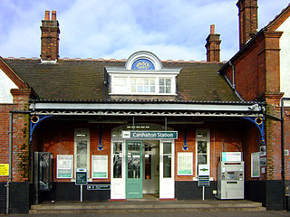 Railway station in South London, United Kingdom
