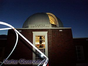 Space Place at Carter Observatory - Image: Carter Obs 5