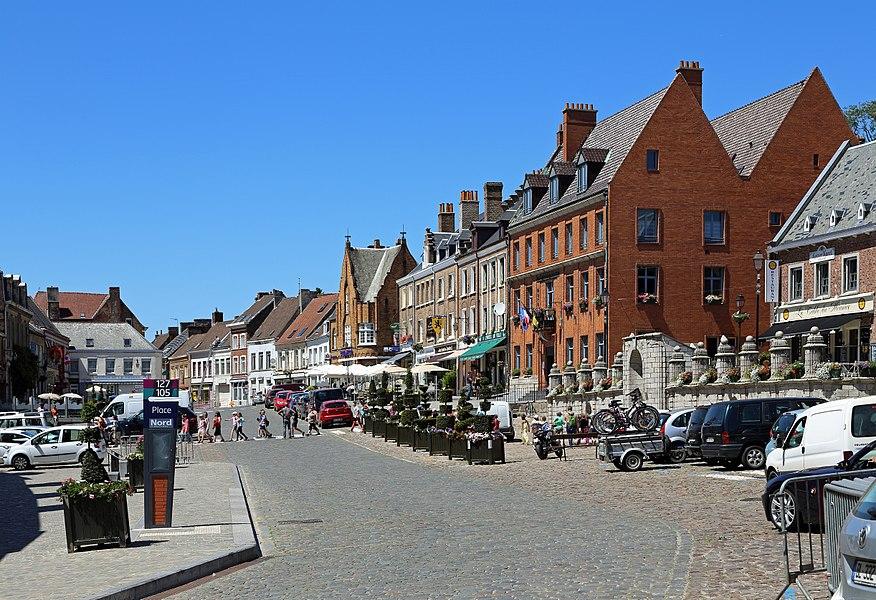 Cassel (département du Nord, France): Grand'Place (Main Square)